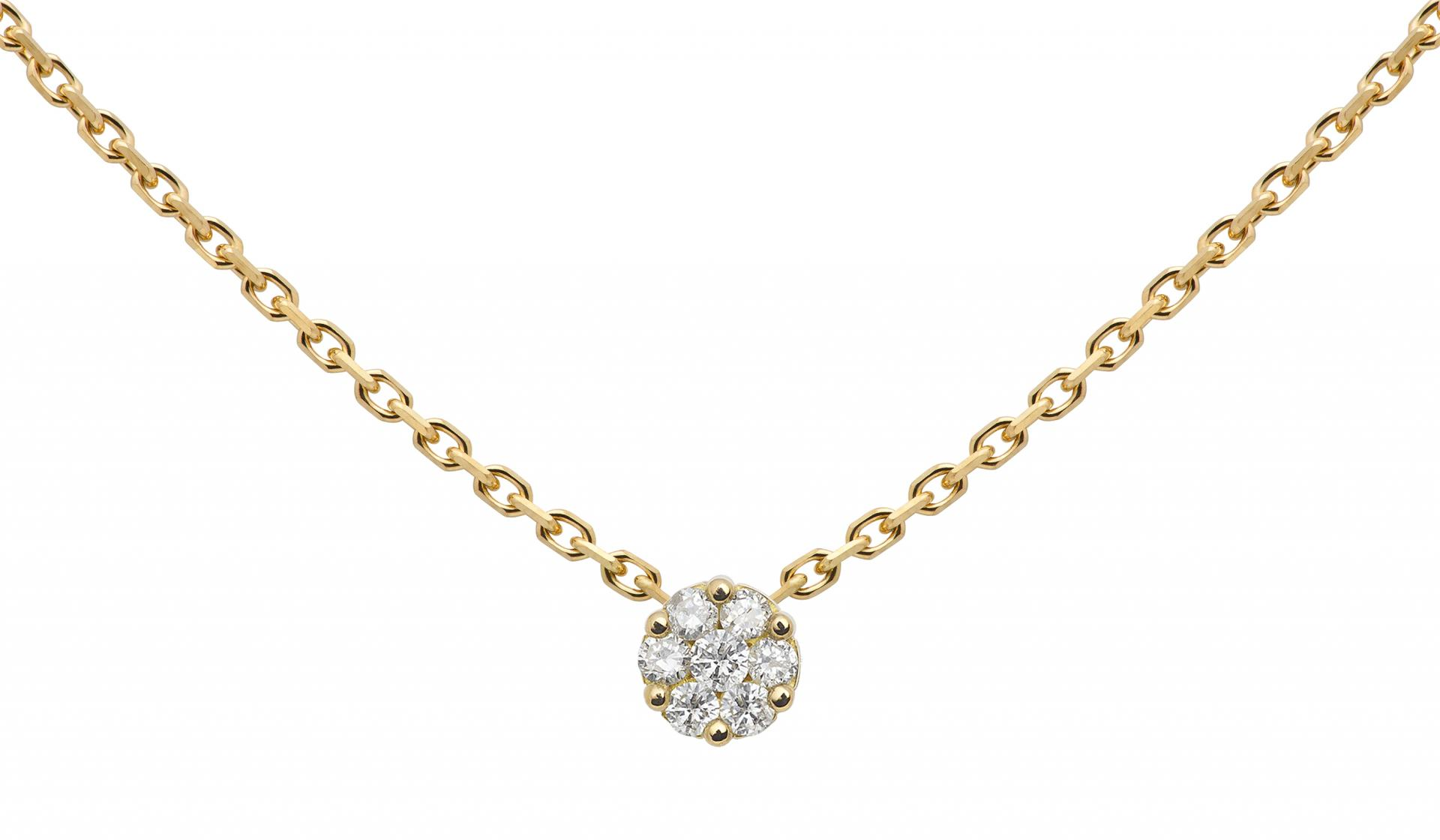 collier femme chaine invisible