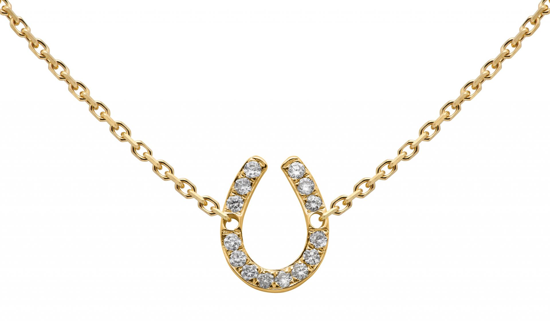 collier femme fer a cheval