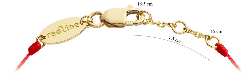 bracelet redline taille guide
