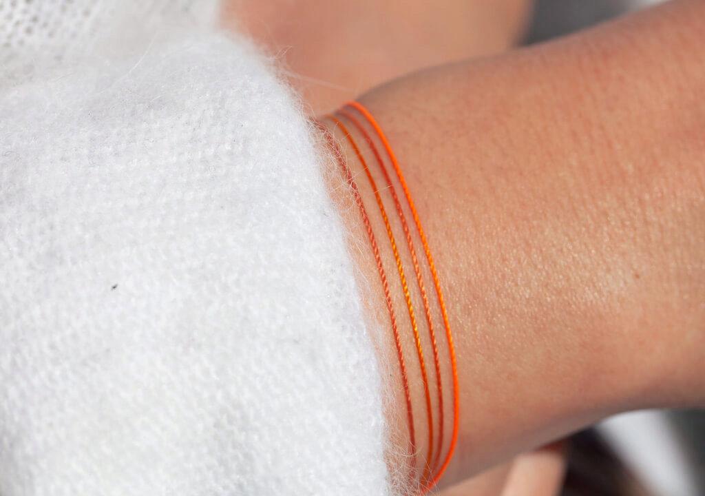 Salmon Лососевая веревка – Orange Апельсиновая веревка – Carot Огненная красная веревка – Fluorescent Orange Флуоресцентная оранжевая веревка
