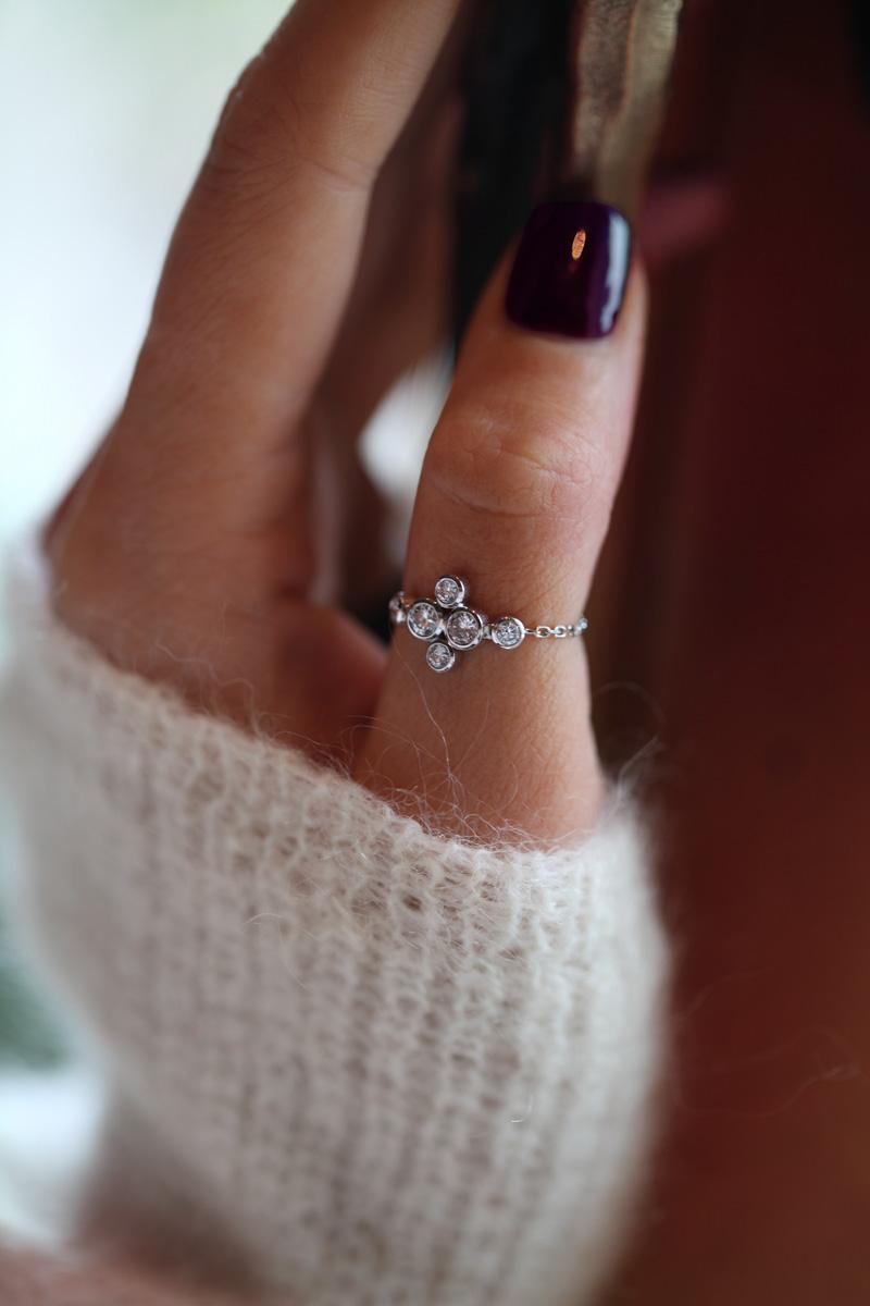 Bague diamant redline